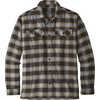 Fjord Flannel Shirt Migration Plaid Small/ Black