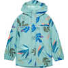 Aquanator Jacket Dusty Celadon Tropical Mix Print