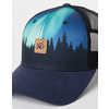 Elevation Trucker Hat Northern Lights/Meteorite