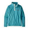 Micro D Snap-T Pullover Mako Blue