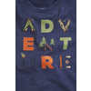 Short Sleeve Graphic T-shirt Adventure Navy
