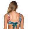 Haut de bikini réversible Milos Tropical