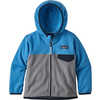 Micro D Snap-T Jacket Feather Grey/Port Blue