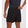 "Flight 5"" Run Shorts Black"