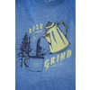 Rise and Grind Long Sleeve T-shirt Orion Blue