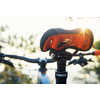 Selle de vélo de montagne Radar Noir/Orange