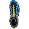 Chaussures randonnée légère mi-hautes imper MQMAce Dirbleu/Lime