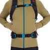 Aconcagua Light Mid-Layer Jacket Olive Melange