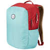 Process Bookbag Dusty Celadon/Deep Red