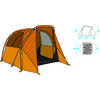Tente Wawona 4 personnes Chêne doré/Jaune safran