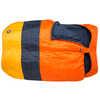 Dream Island -9C Double Sleeping Bag Orange/Navy/Yellow