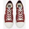 Chaussures en toile de coton biologique Wata Vegan Toile/Pierre marsala