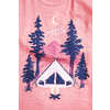Tent Dreams Graphic Tank Dusty Rose