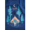 Tent Dreams Graphic Tank Orion Blue