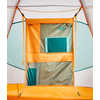 Homestead Roomy 2-Person Tent Zinnia Orange Low Poly Print/Citrine Yellow