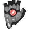 Rosso Corsa Gloves Black