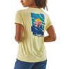 T-shirt Cap Cool Daily Graphic Sommets papier/Jaune résine