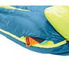 Sac de couchage en duvet Disco -9 °C Mer profonde/Lime