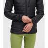 Manteau à capuchon Uplink Noir