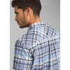 Cayman Plaid Short Sleeve Shirt Blue Anchor
