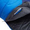Sac de couchage Centaurus 0 °C Bleu éclatant/Bleu clair de lune