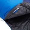 Sac de couchage Centaurus 0 °C large Bleu éclatant/Bleu clair de lune