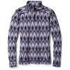 Chandail en laine mérinos 250 Pattern Purple Mist