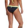 Culotte de bikini Sandblasted Mojave Cove Noir/Comédie