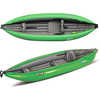 Twist 1 Kayak with Foot Pump Lime Green