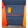 Abri Homestead Bleu ombragé/Orange papaye