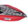 Kayak Solar avec pompe à pied Butte rouge