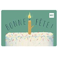 MEC E-Gift Card Birthday