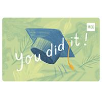 Carte‑cadeau électronique de MEC Remise des diplômes