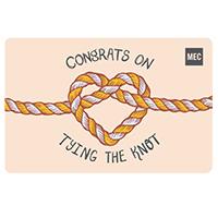 Carte‑cadeau électronique de MEC Mariage