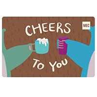 Carte‑cadeau électronique de MEC Félicitations