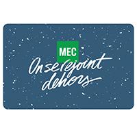 Carte‑cadeau électronique de MEC Classique