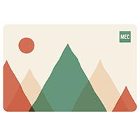 Carte‑cadeau électronique de MEC Montagne