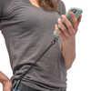 Attache Hitch pour téléphone et cordon élastique Black/Black