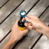 Ouvre-bouteille en aluminium Ahhh... Blue