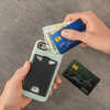 Porte-carte pour téléphone CashBack Black