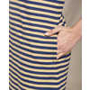 Windmere Long Sleeve Dress Sand Beach Stripe