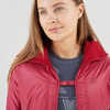 Outline Warm Jacket Garnet Rose