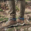 Mt Maddsen Mid Leather Waterproof Hiking Boot Medium Grey Full Grain