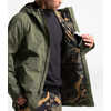 City Breeze Rain Jacket Burnt Olive Green/Burnt Olive Green WaxedCamo
