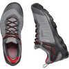 Chaussures de randonnée imperméables Venture Gris acier/Orange aura