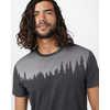 T-shirt Juniper Noir météorite chiné