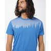 Juniper Short Sleeve T-shirt Dark Ocean Blue Heather