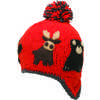 Canuck Earflap Hat Flame