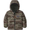 Reversible Down Sweater Hoody Bear Witness Camo: Sage Khaki