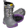 Lumi Waterproof Boots Steel Grey/Royal Lilac